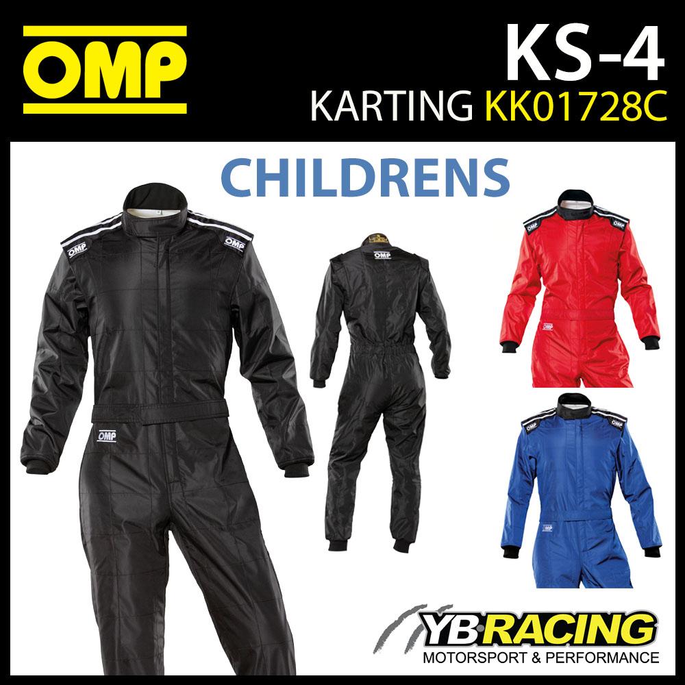 KK01728C OMP KS4 KS-4 CHILDRENS KART SUIT JUNIOR CADET KARTING CIK-FIA LEVEL 1