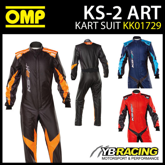 KK01729 OMP KS2 KS-2 ART ADULT KART SUIT NEW 2021 DESIGN CIK-FIA LEVEL 2
