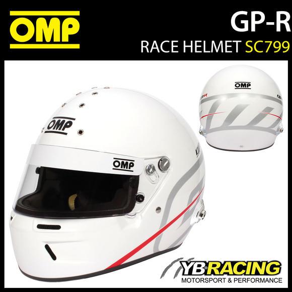 SC799 OMP GP-R 2021 Helmet Full Face Motorsport Race Rally HANS FIA 8859-2020