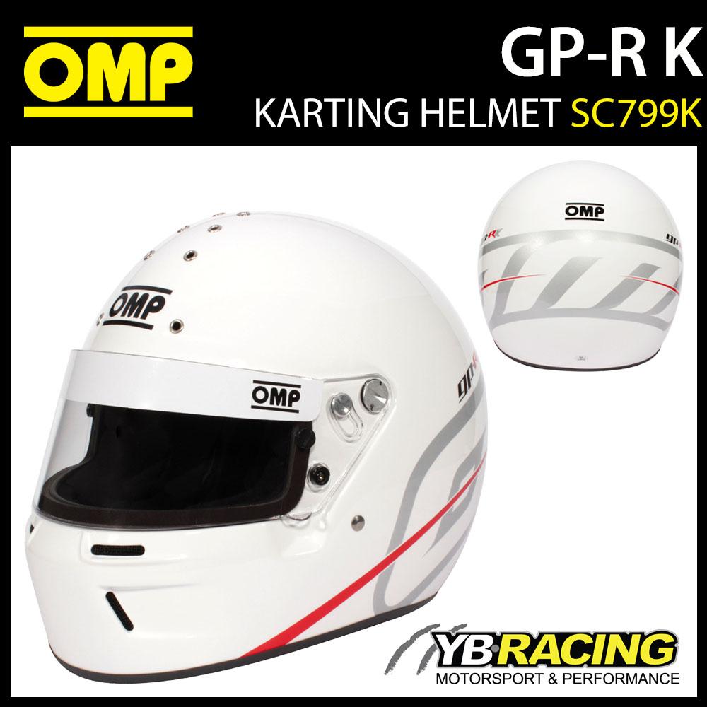 SC799K OMP GP-R K 2021 New Kart Helmet for Motorsport Race Karting SNELL-K 2020