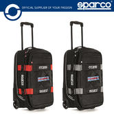New! 2021 Sparco Travel Martini Racing Cabin Trolley Bag 48L Race Rally Travel