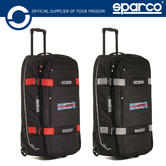 New! 2021 Sparco Tour Martini Racing Trolley Bag Travel Holdall 127L Race Rally