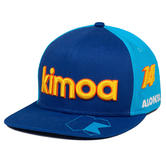 New! 2021 Special Edition Alonso #14 Memories Cap Alpine F1 Team by KIMOA