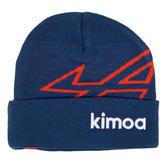 New! 2021 Alpine F1 Team Alonso Beanie Hat Blue One Size KIMOA Racing Clothing