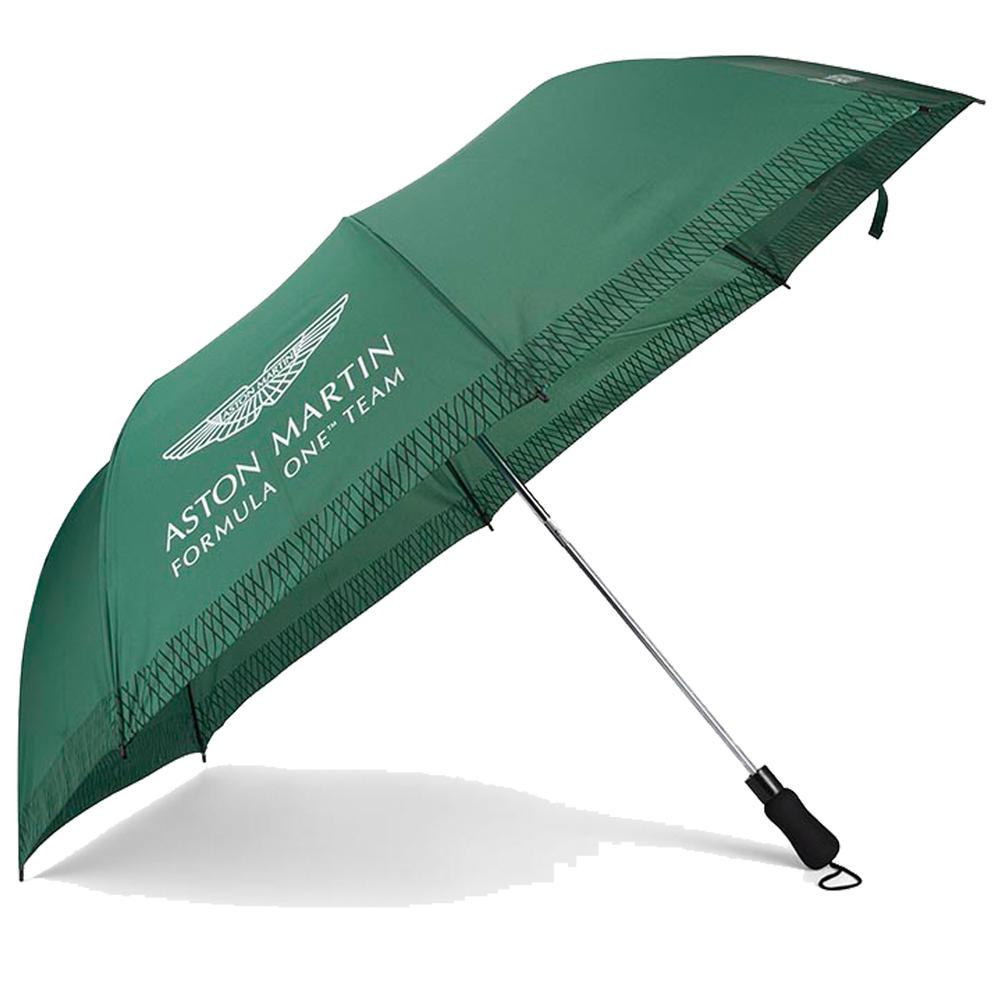 New! 2021 Aston Martin F1 Formula One Team Umbrella Telescopic Official Product