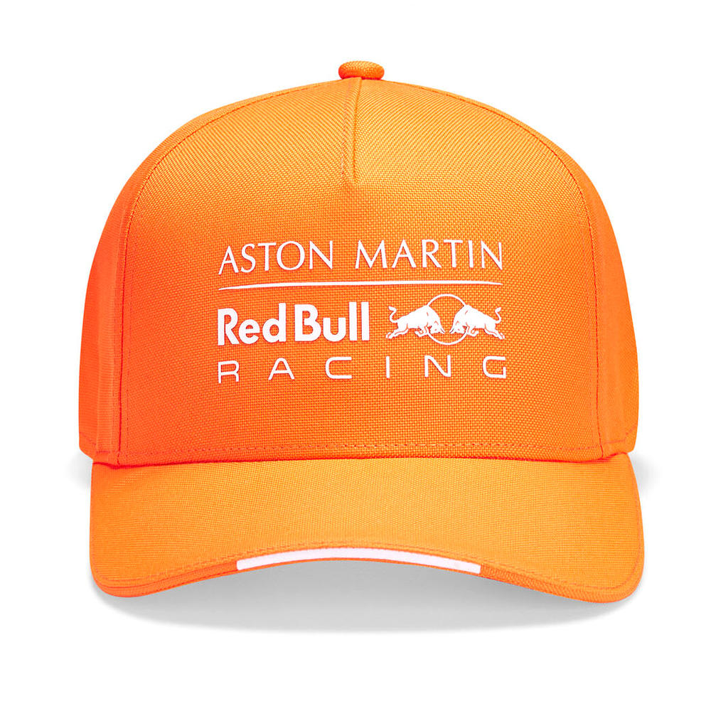 Sale! Red Bull Racing F1 Kids Cap Max Verstappen Childrens Orange Baseball Cap