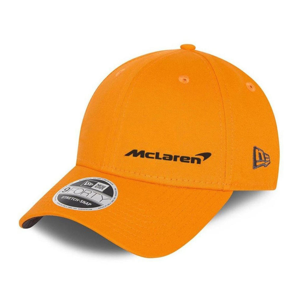 New! 2021 Mclaren F1 Essentials Team Cap 940SS NEW ERA 9Forty Papaya Orange OSFM