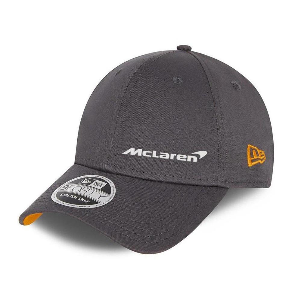 New! 2021 Mclaren F1 Essentials Team Cap Anthracite Grey NEW ERA 940SS OSFM
