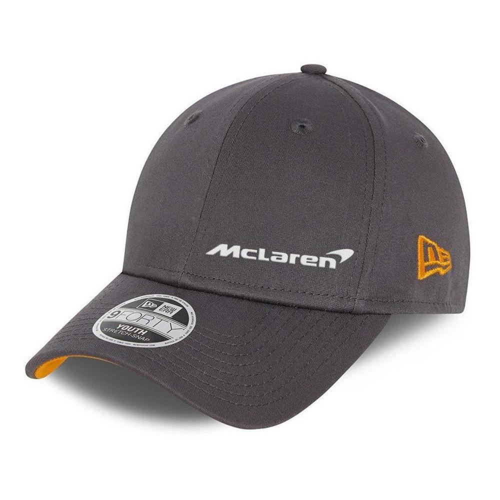 New! 2021 Mclaren F1 Kids Cap Anthracite Grey Youth Size NEW ERA 940SS 9Forty