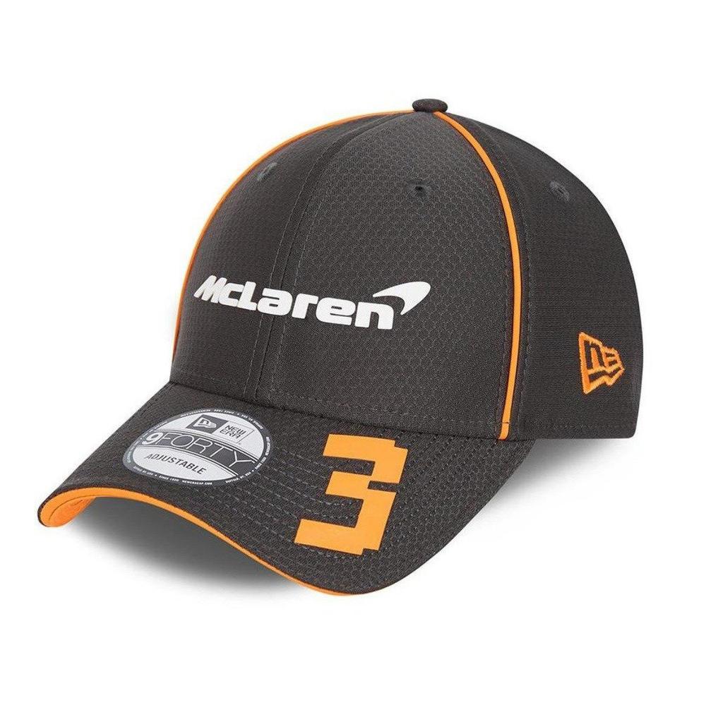 New! 2021 Mclaren F1 Daniel Ricciardo #3 Driver Cap Grey NEW ERA 940 9Forty OSFM