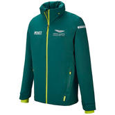 New! 2021 Aston Martin F1 Team Mens Jacket Coat Official Formula One Merchandise