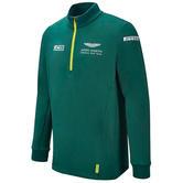 New! 2021 Aston Martin F1 Team Mens Midlayer Sweatshirt Top Official Merchandise