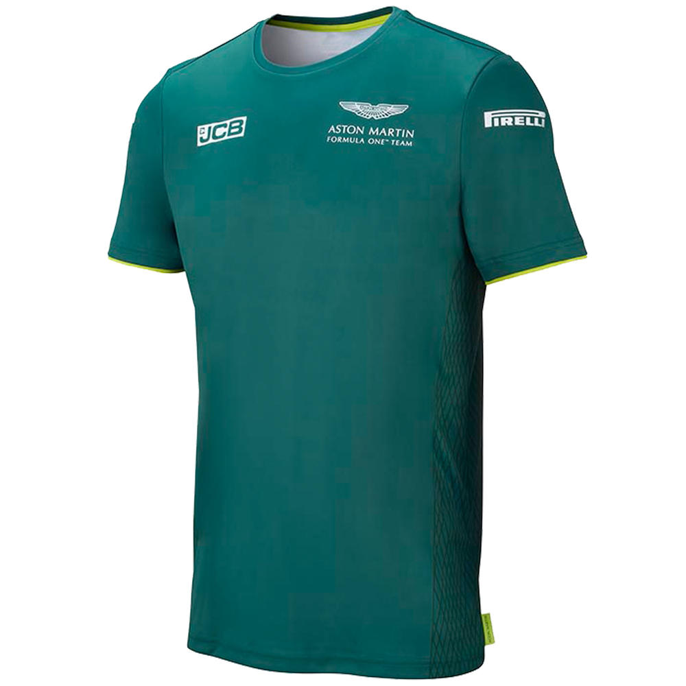 New! 2021 Aston Martin F1 Team Mens T-Shirt Tee Official Formula One Merchandise