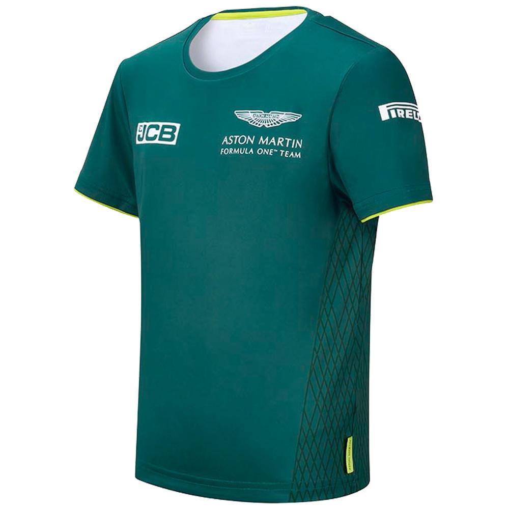 New! 2021 Aston Martin F1 Kids T-Shirt Tee Childrens Official Team Merchandise