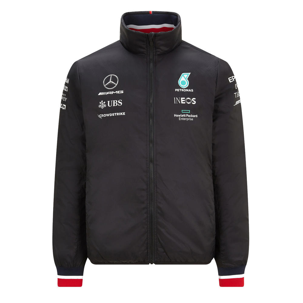 New! 2021 Mercedes-AMG F1 Team Mens Lightweight Padded Jacket Official Product