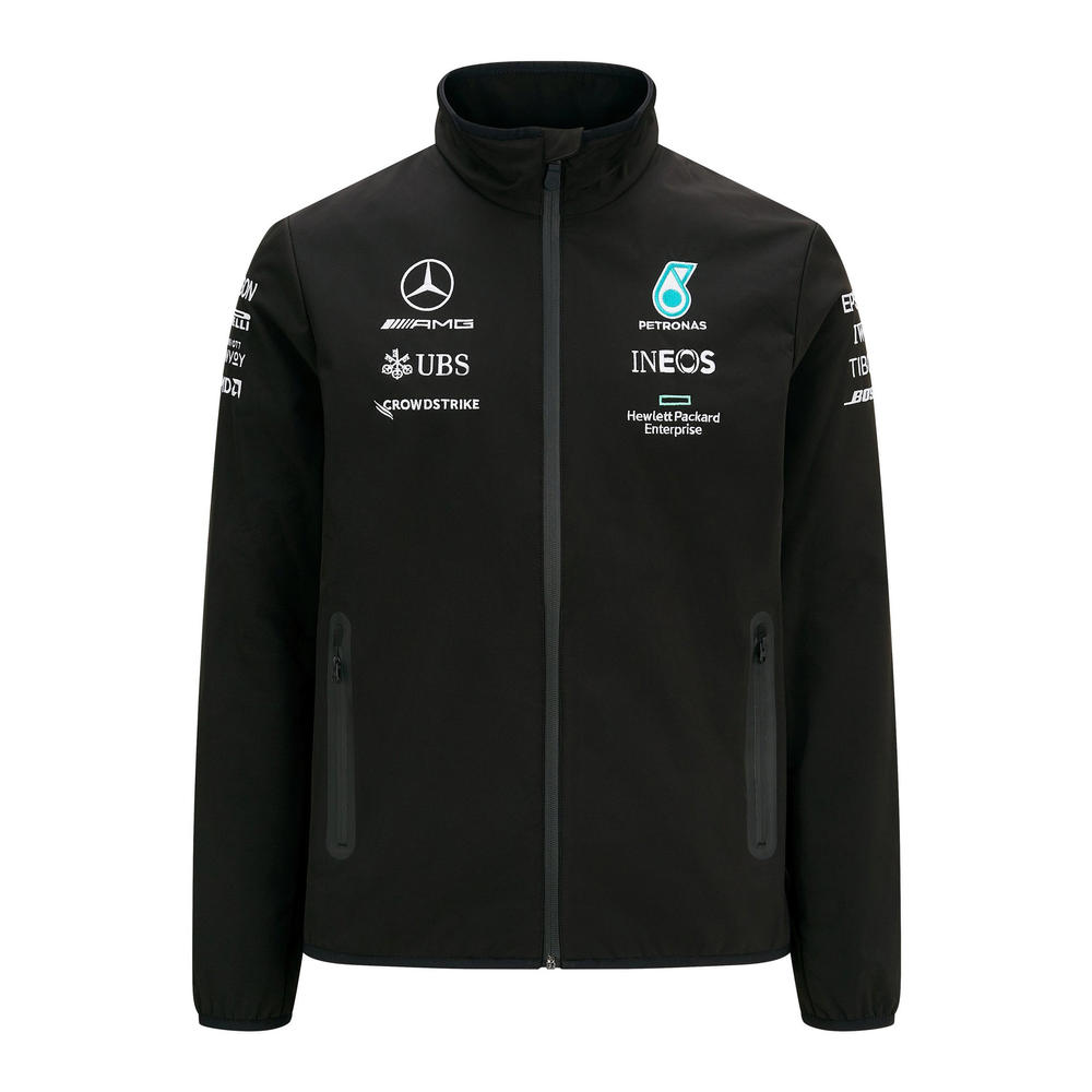 New! 2021 Mercedes-AMG F1 Mens Softshell Jacket Coat Lewis Hamilton Bottas