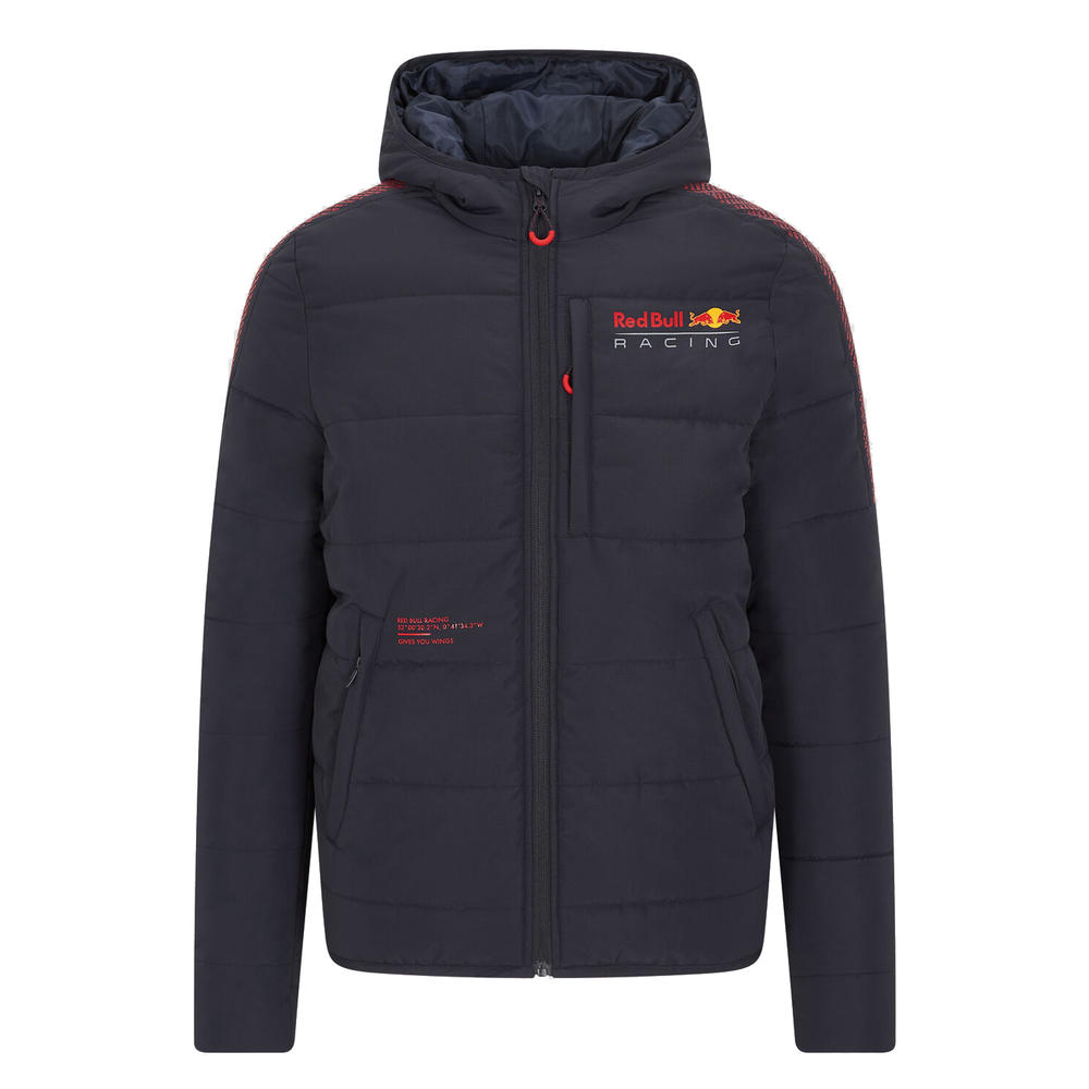 New! 2021 Red Bull Racing F1 Team Padded Winter Jacket Coat Official Merchandise