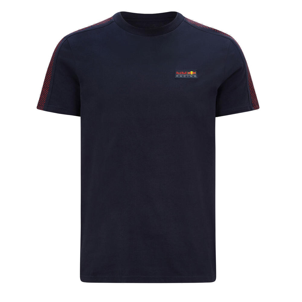 2021 Red Bull Racing F1 Team Mens T-Shirt Small Logo 100% Cotton Tee Fanwear