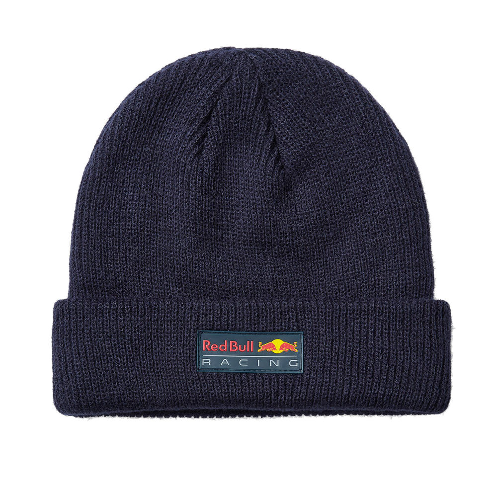 New! 2021 Red Bull Racing F1 Team Classic Beanie Hat Adult One Size Navy RBR