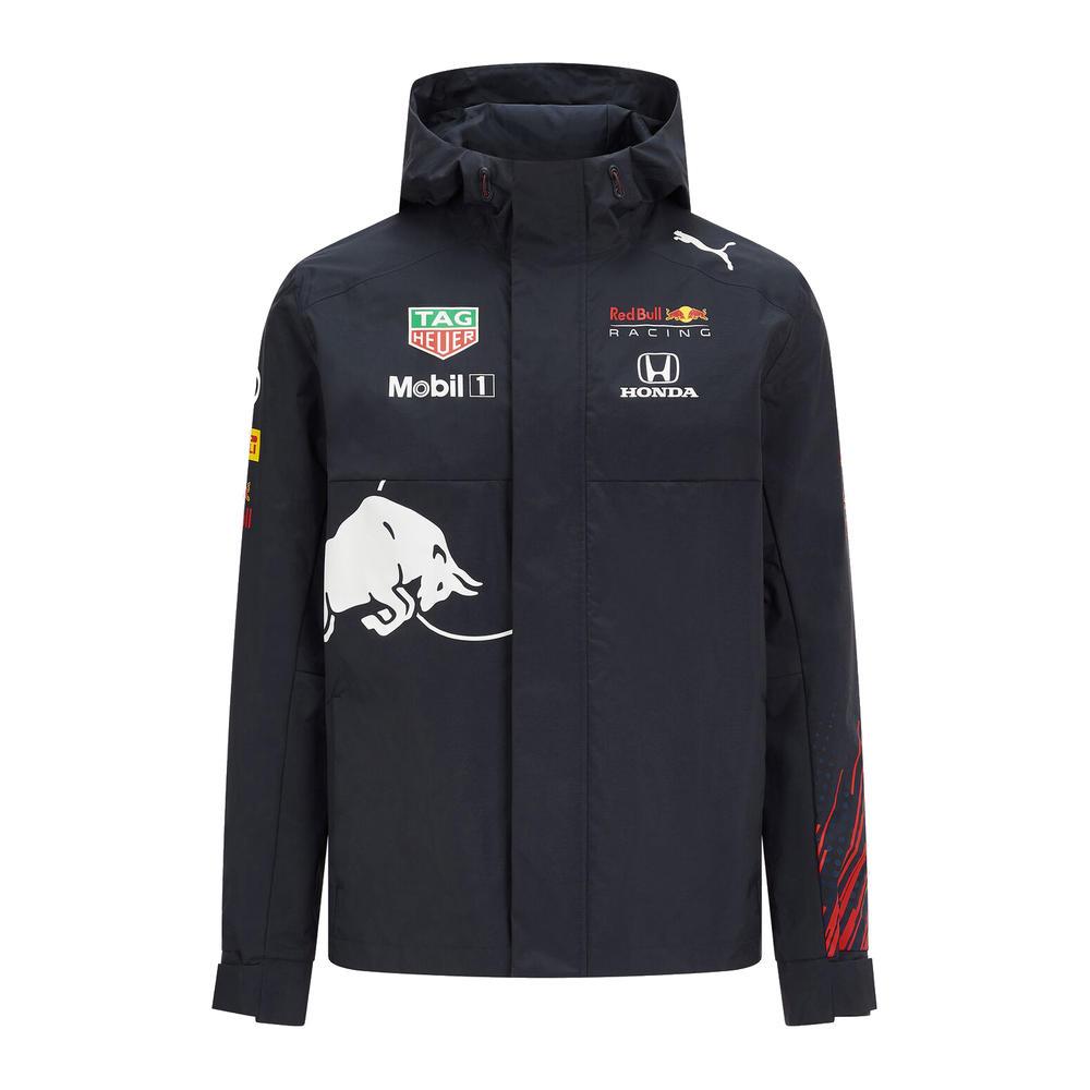2021 Red Bull Racing Replica Mens Team Rain Jacket