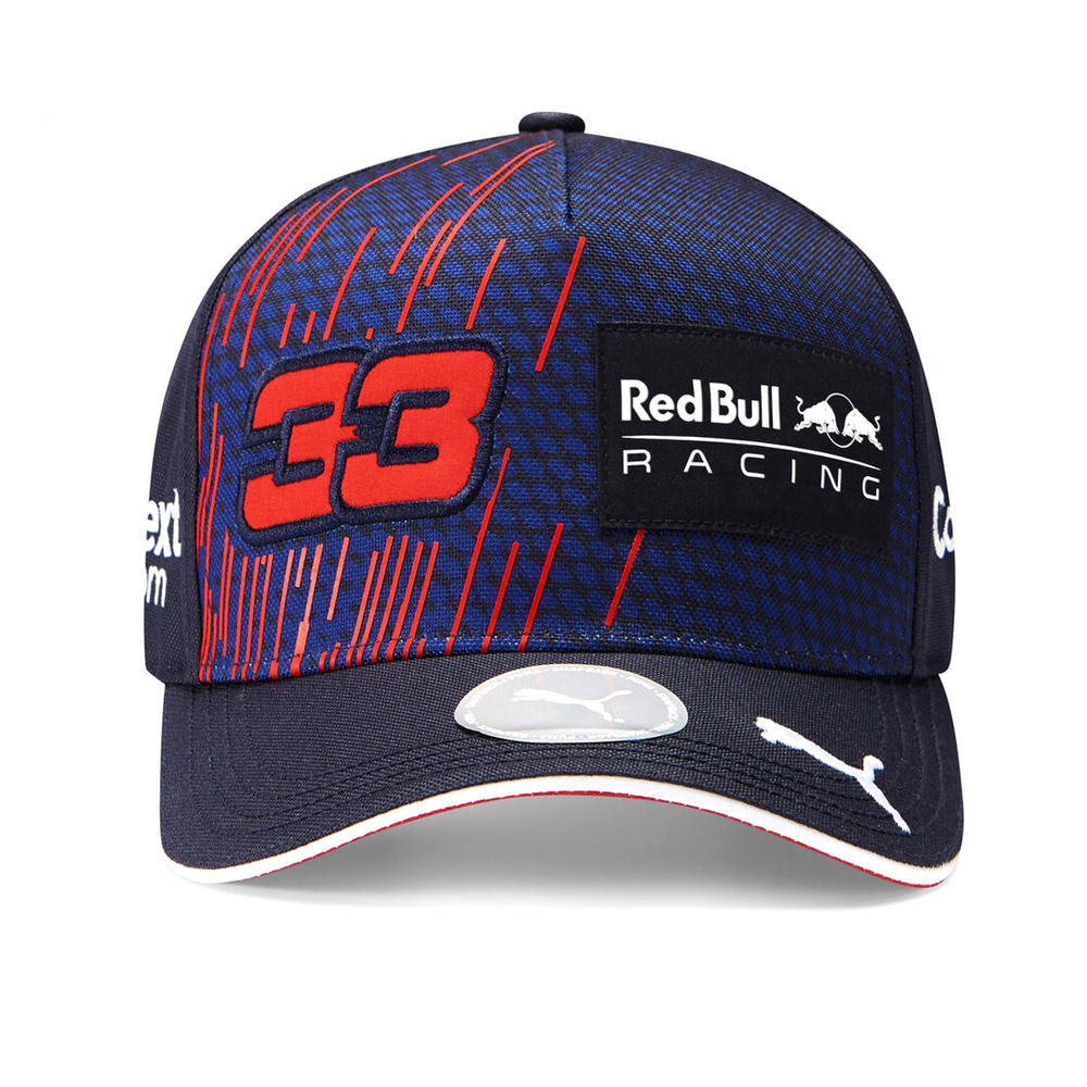 New! 2021 Max Verstappen #33 Baseball Cap Adult Official Red Bull Racing F1 Team