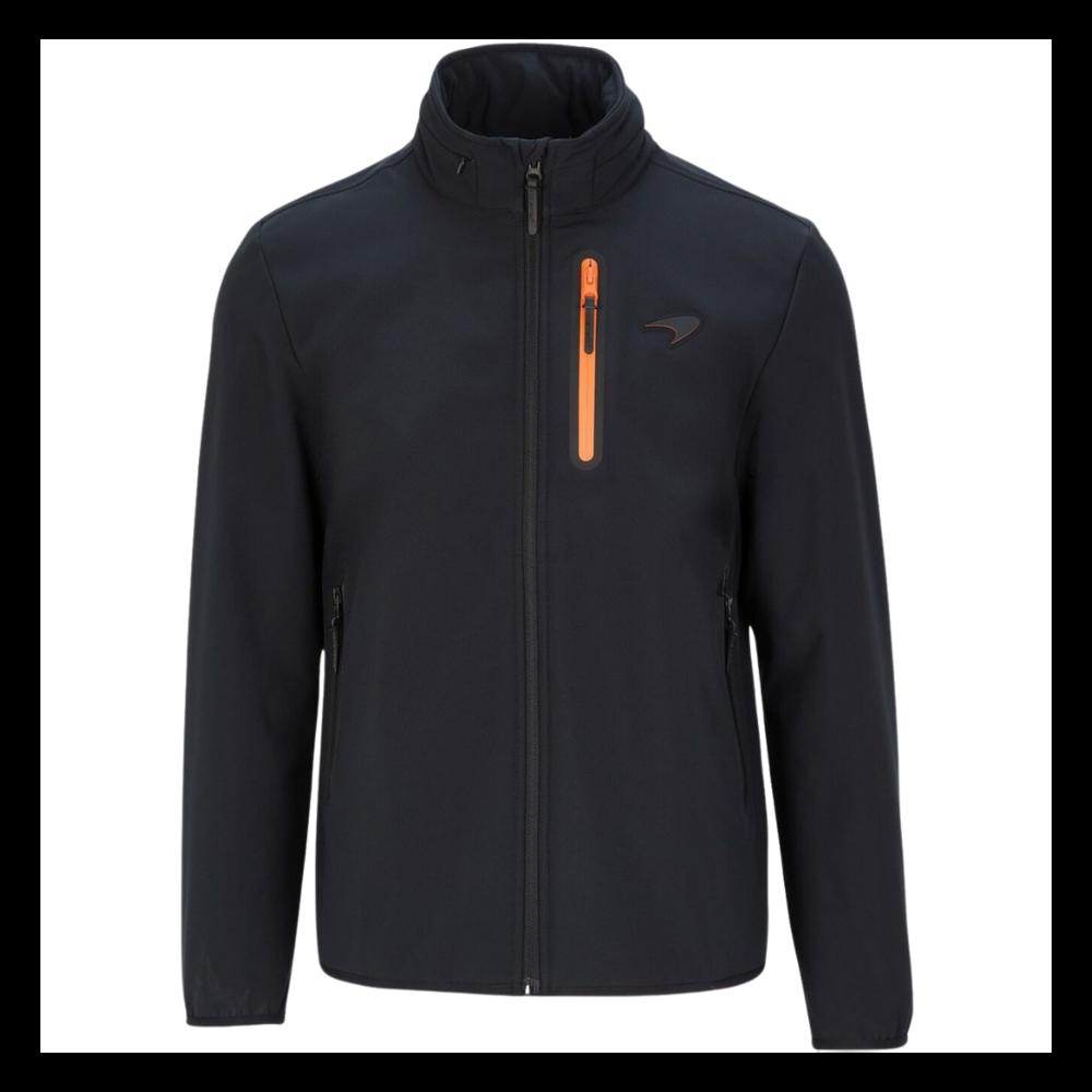 New! 2021 Mclaren F1 Team Mens Softshell Fleece Jacket Coat Official F1 Fanwear