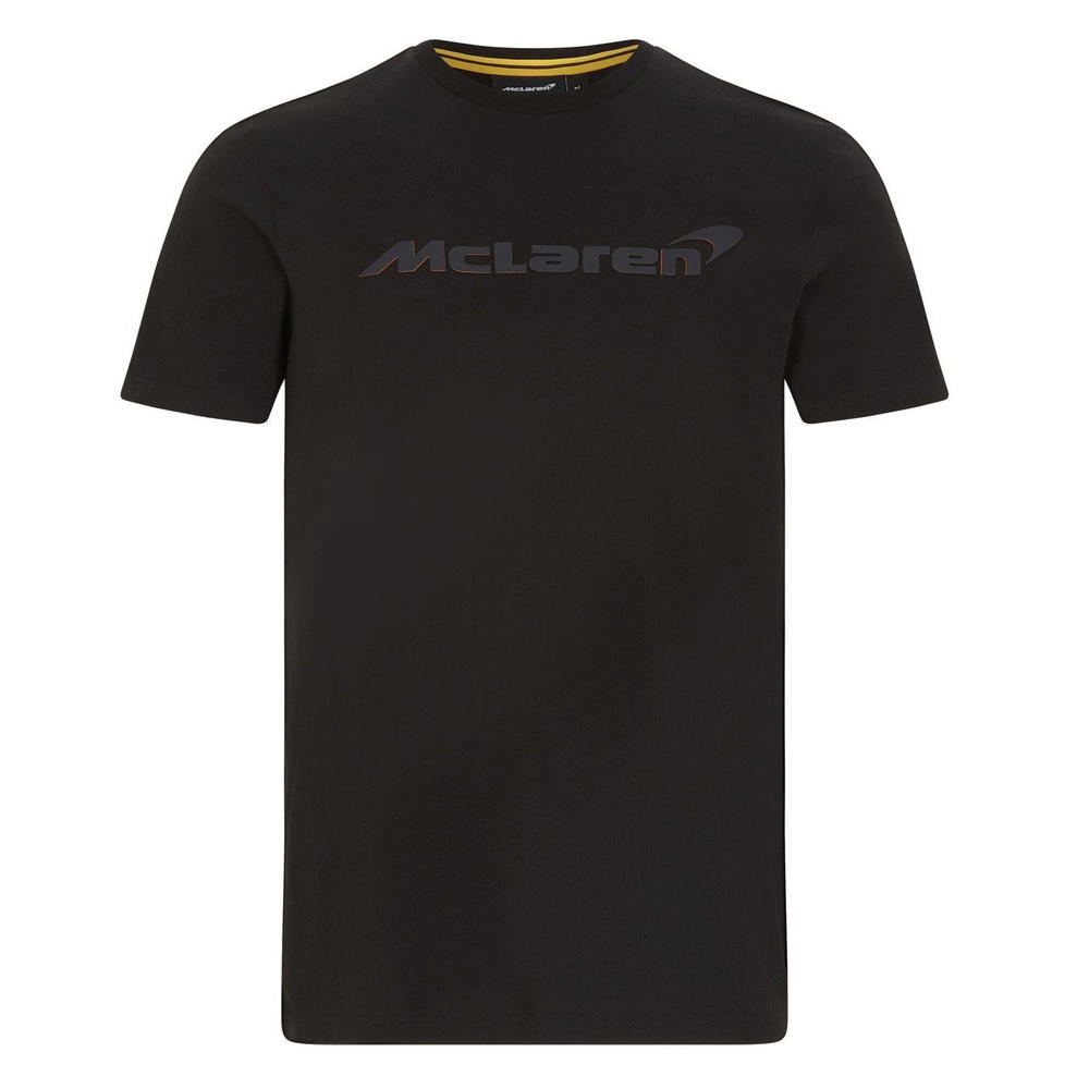 New! 2021 Mclaren F1 Team Mens Stealth Logo Tee T-Shirt Formula One Fanwear F1