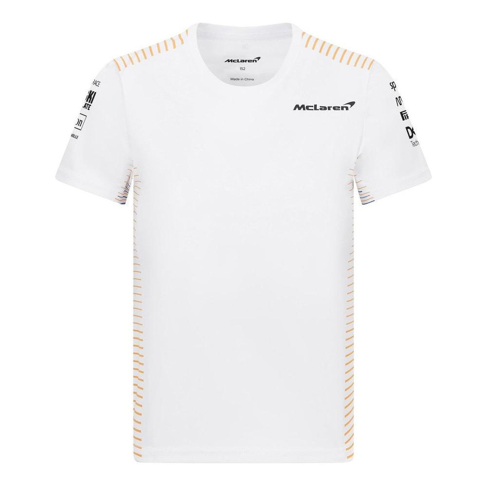 New! 2021 Mclaren F1 Kids Team T-Shirt Tee Norris & Ricciardo in Childrens Sizes