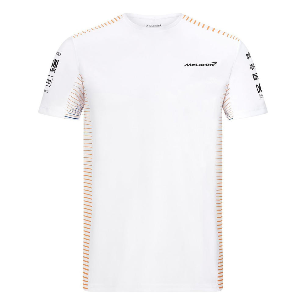 New! 2021 Mclaren F1 Mens Team T-Shirt Tee Norris Ricciardo Official F1 Fanwear