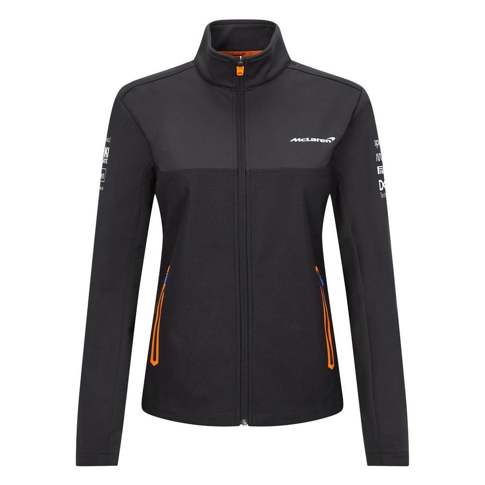 New! 2021 Mclaren F1 Team Womens Softshell Jacket Coat in Ladies & Girls Sizes