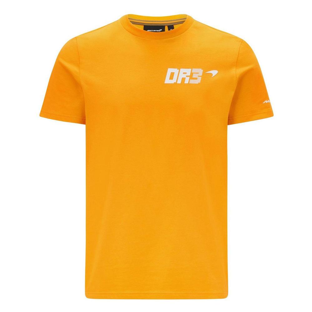 New! 2021 Mclaren F1 Daniel Ricciardo #3 Australian Mens T-Shirt Tee Orange DR3