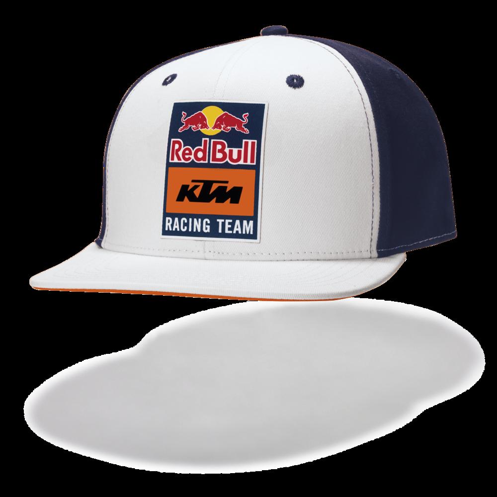 New! 2021 MotoGP Red Bull KTM Racing Team Essential Snapback Cap 100% Cotton