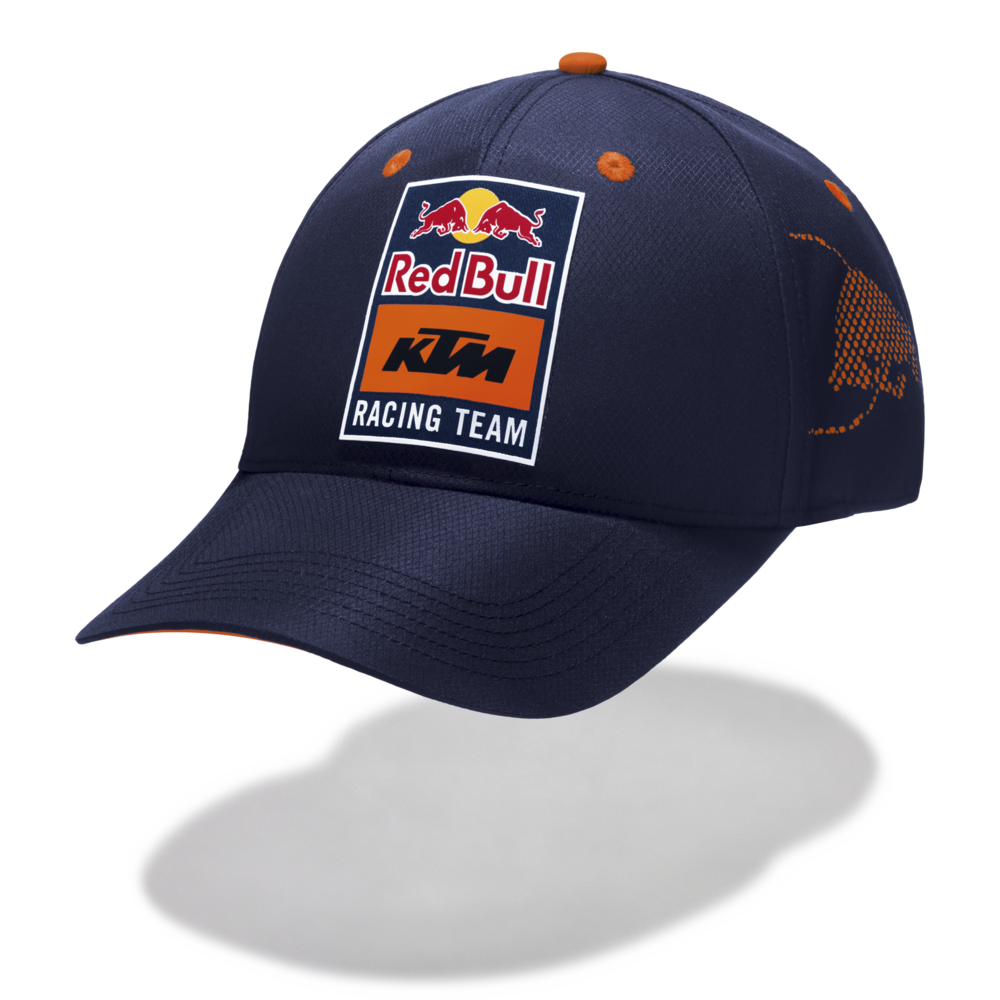 New! 2021 MotoGP Red Bull KTM Racing Team Laser Cut Cap 100% Nylon Headwear