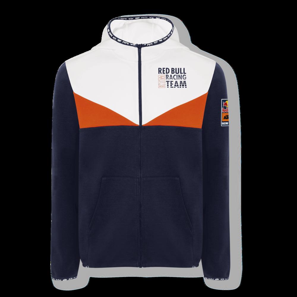New 2021 MotoGP Red Bull KTM Racing Team Mens Fletch Zip Hoodie Jacket Hoody