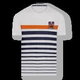 New! 2021 MotoGP Red Bull KTM Racing Team Mens Stripe T-Shirt Tee Official Item