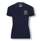 New! 2021 MotoGP Red Bull KTM Racing Team Womens T-Shirt Backprint Logo Ladies