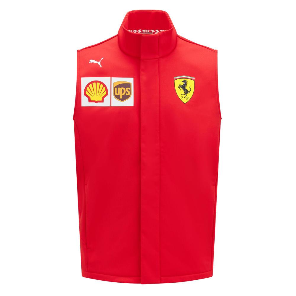 New! 2021 Scuderia Ferrari F1 Team Mens Gilet Bodywarmer Official F1 Merchandise