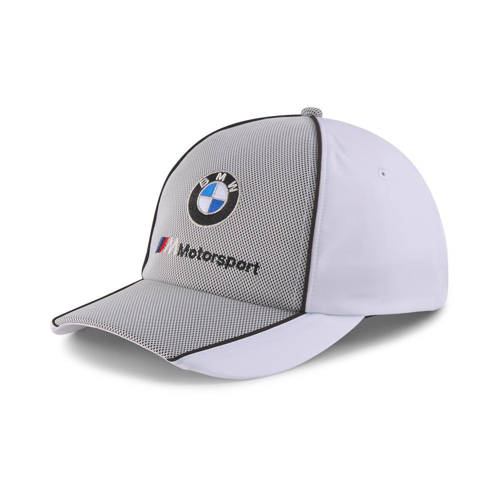 New! 2021 Puma BMW M Motorsport Baseball Cap in White Official Race Merchandise