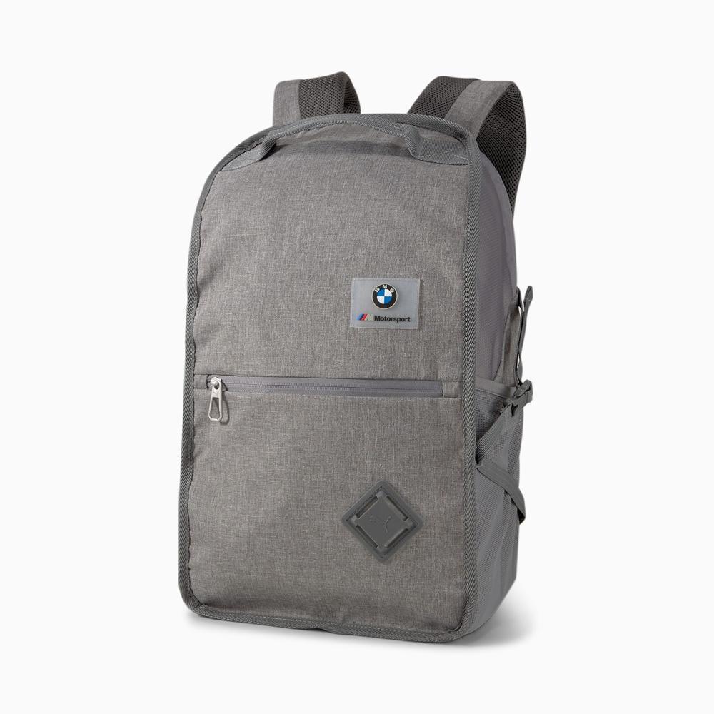 New! 2021 Puma BMW M Motorsport Rucksack Grey Backpack Bag Official Merchandise