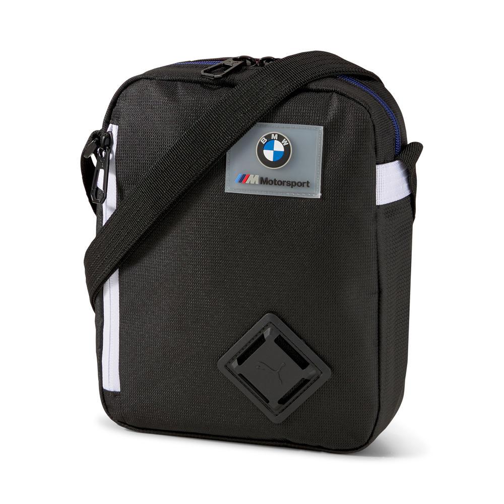 New! 2021 Puma BMW M Motorsport Portable Bag Black Box Shape with Zip Pockets