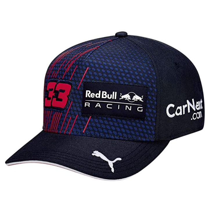New! 2021 Max Verstappen #33 Baseball Cap Adult Official Puma Red Bull Racing F1