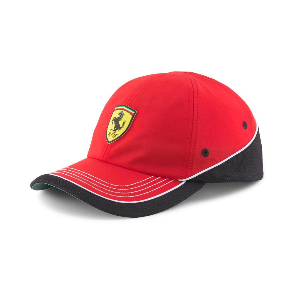 New! 2021 Puma Ferrari Sportswear Baseball Cap Red Rosso Corsa Adult One Size