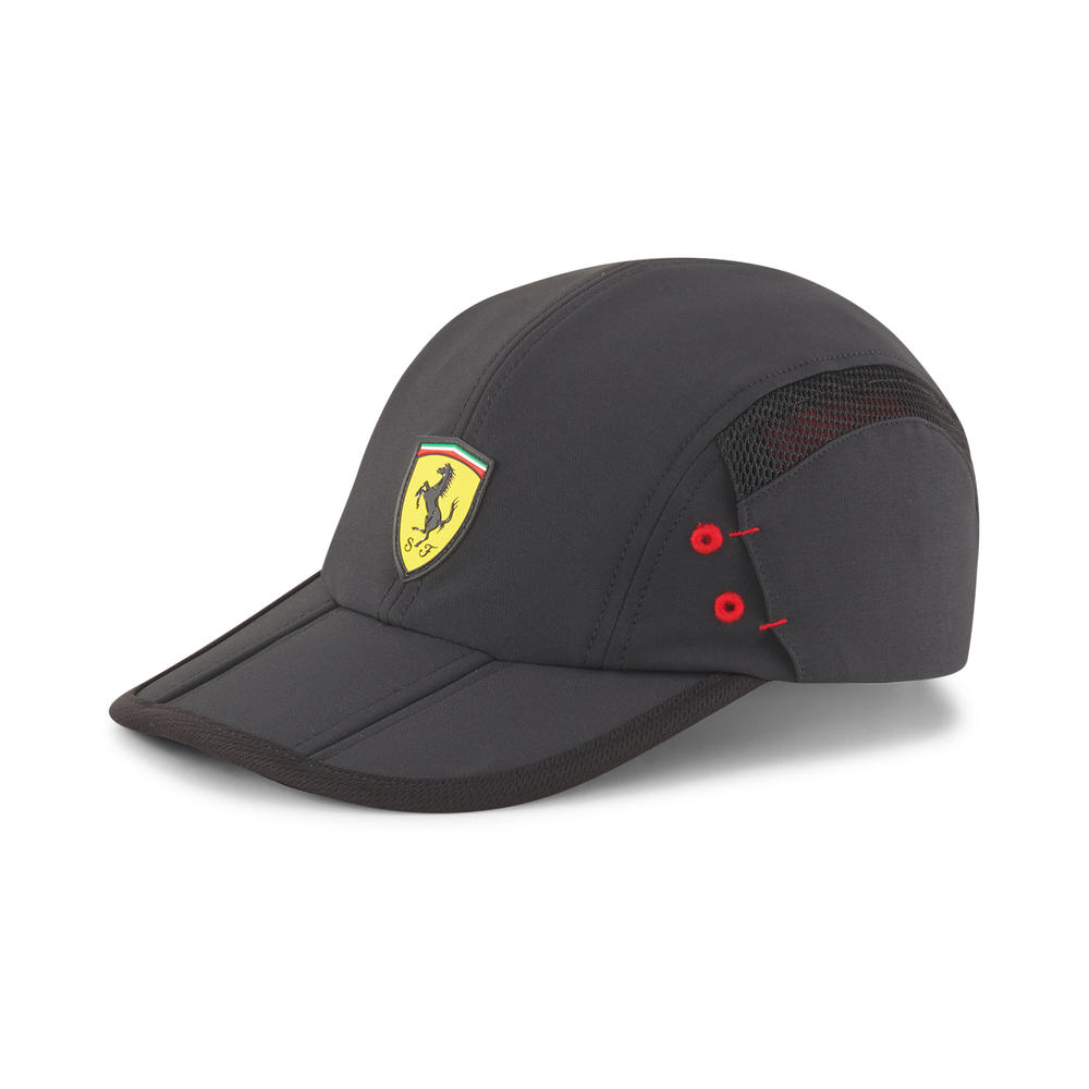 New! 2021 Puma Ferrari Sportswear RCT Cap Foldable made with Recycled Materials