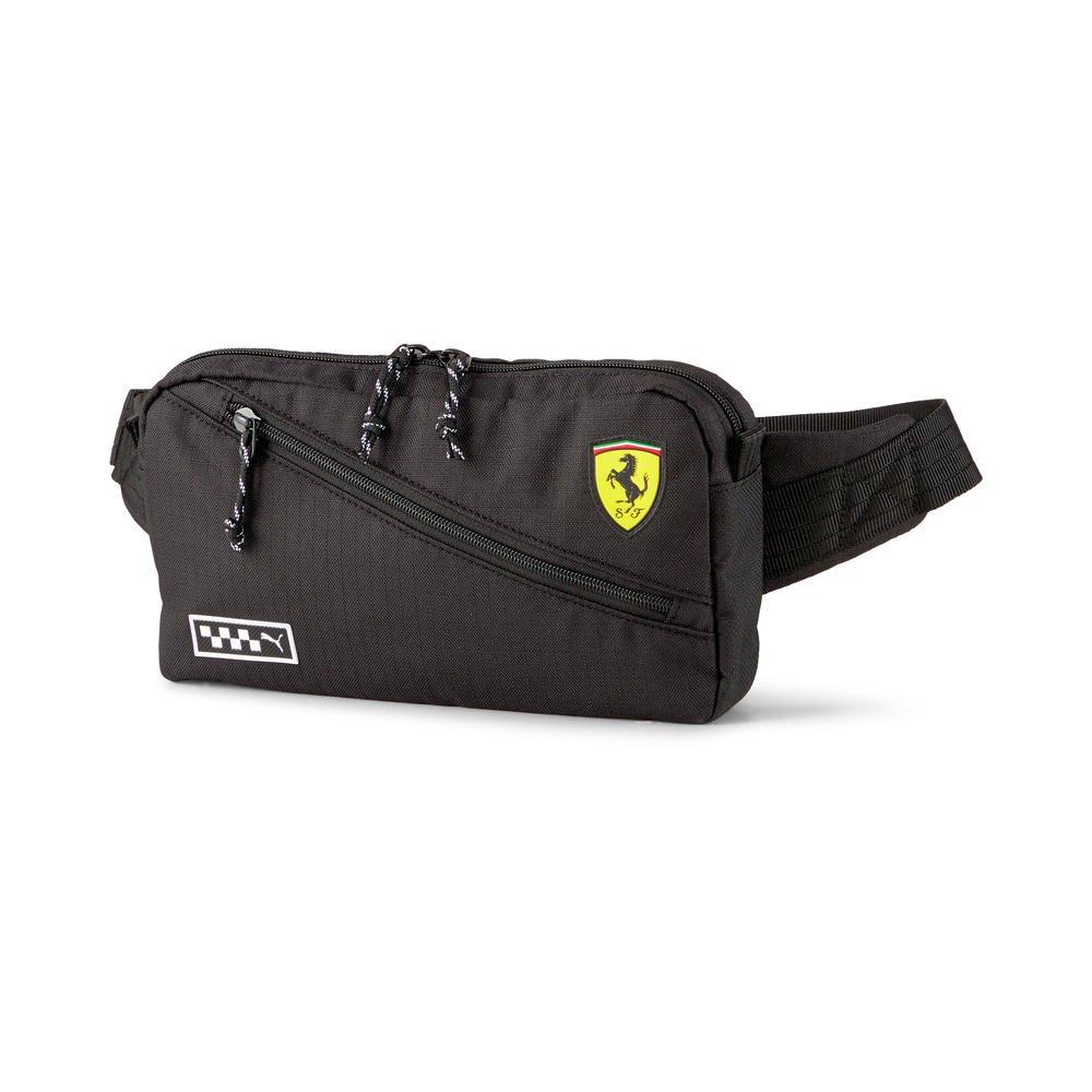 New! 2021 Puma Ferrari Waist Bag Black Travel Leisure Sports Official Product