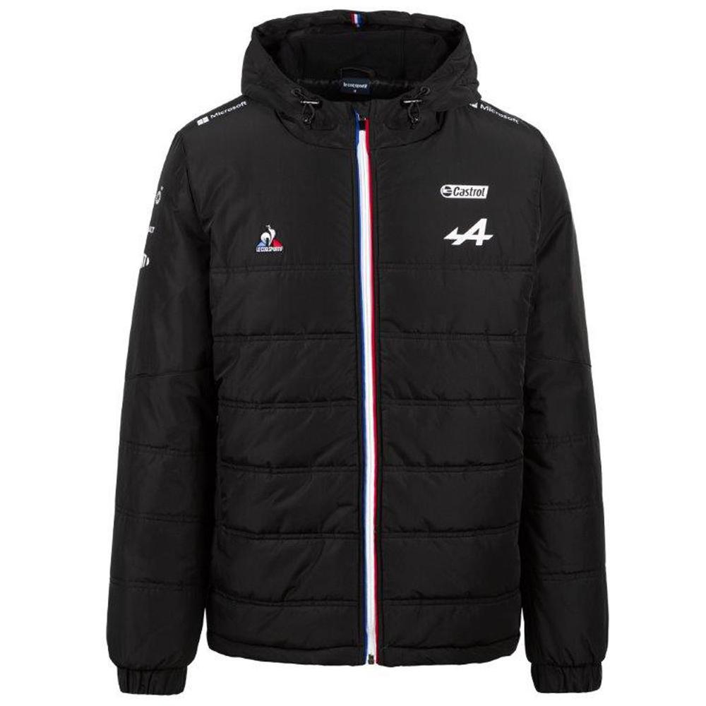 New! 2021 Alpine F1 Team Mens Parka Jacket Coat Alonso Ocon Official Merchandise