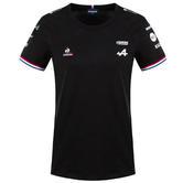 2021 ALPINE F1 TEAM LADIES BLACK T-SHIRT