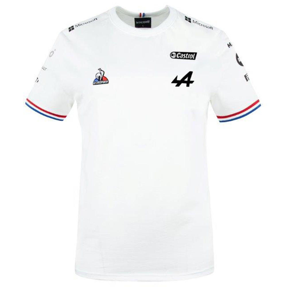 2021 ALPINE F1 TEAM LADIES WHITE T-SHIRT