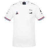 New! 2021 Alpine F1 Team Kids White T-Shirt Tee Alonso Ocon Childrens Sizes Boys