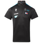 New! 2021 Mercedes EQ Formula E Team Mens Polo Shirt Official Race Merchandise