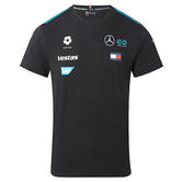New! 2021 Mercedes EQ Formula E Team Ladies T-Shirt Tee in Womens Female Sizes